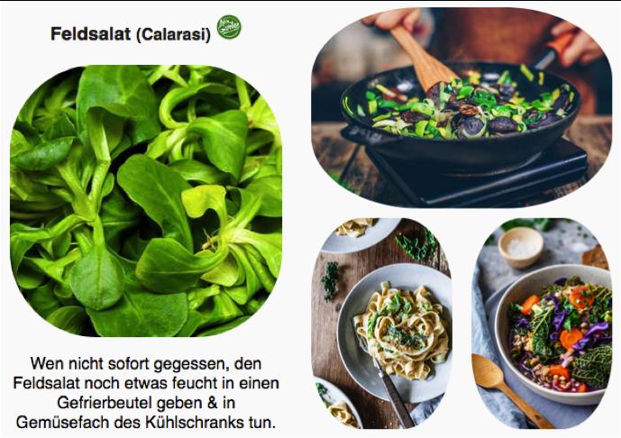Erhalte jede Woche die ErntePost mit Rezeptideen & Lagerungstipps zum Gemüse der Woche!