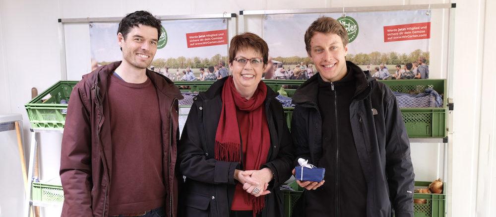 Niedersächsische Landesministerin besucht WirGarten